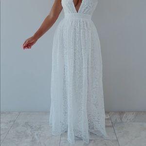 Living A Dream Maxi:White